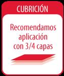 CUBRICIÓN - 3/4 Capas