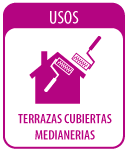 USOS - Terraza Cubierta Medianerias